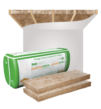 Glasswool - Ceiling - Earthwool glasswool insulation: Ceiling batt