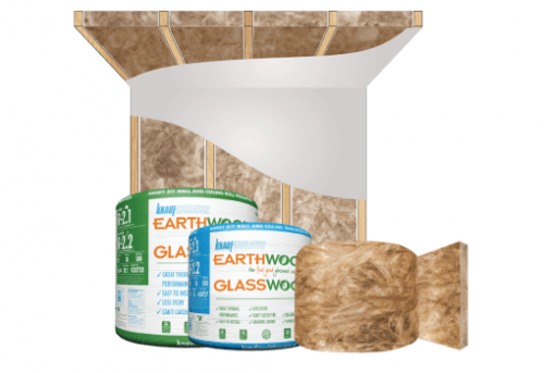 Glasswool - Multiple Applications - Earthwool glasswool insulation: Multi-Use roll