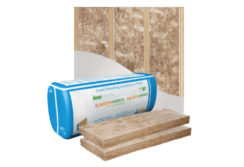 Glasswool - Wall - Earthwool glasswool insulation: Internal (Acoustic) wall batt