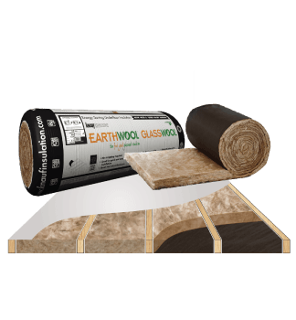 Glasswool - Floor - Earthwool glasswool insulation: Underfloor roll