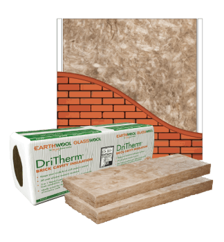 Glasswool - Cavity Wall - DriTherm® Masonry slab